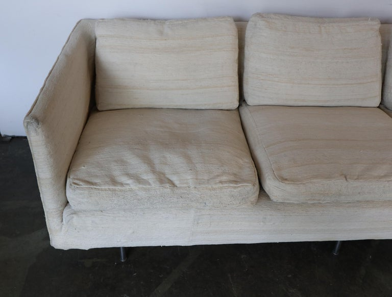 Ben Thompson for Design Research Mid-Century Modern Sofa For Sale 1