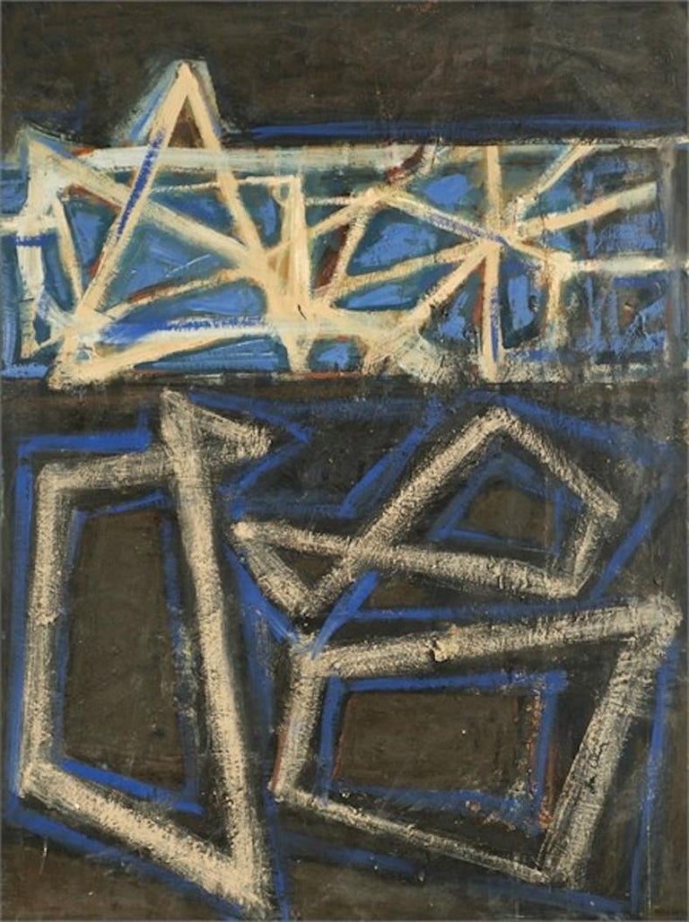Ben Wilson Abstract Painting - Chartres, 1989