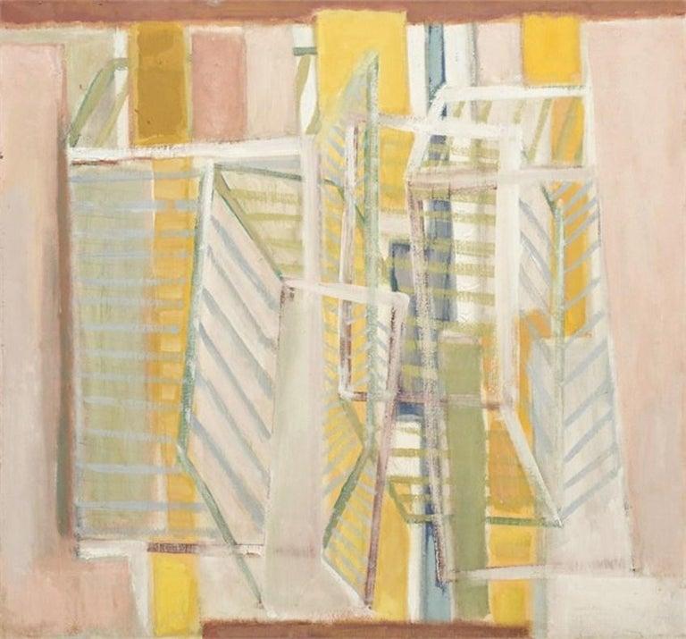 Ben Wilson Abstract Painting - Lumina, c. 1985