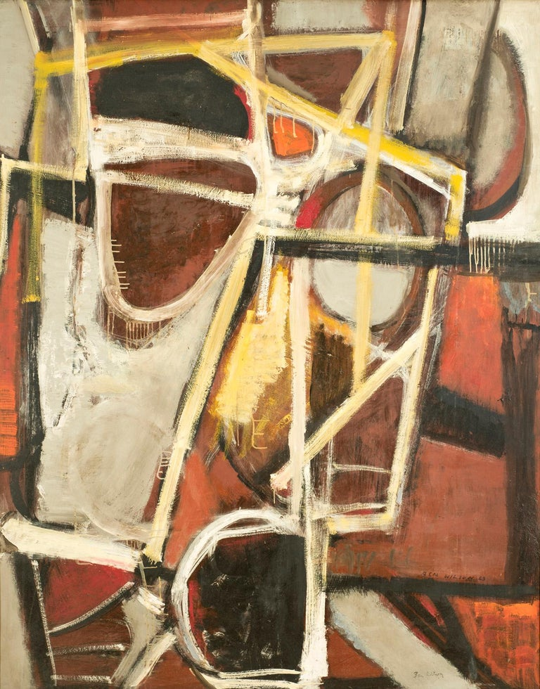 Ben Wilson Abstract Painting - Outrageous Fortune, ca. 1963