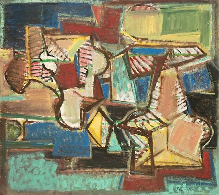Ben Wilson Abstract Painting - Untitled, 87