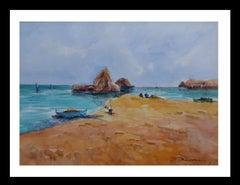 landscape- original figuratif acrylic painting