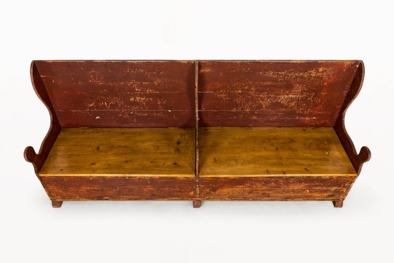 Painted Bench, 19th Century, England For Sale