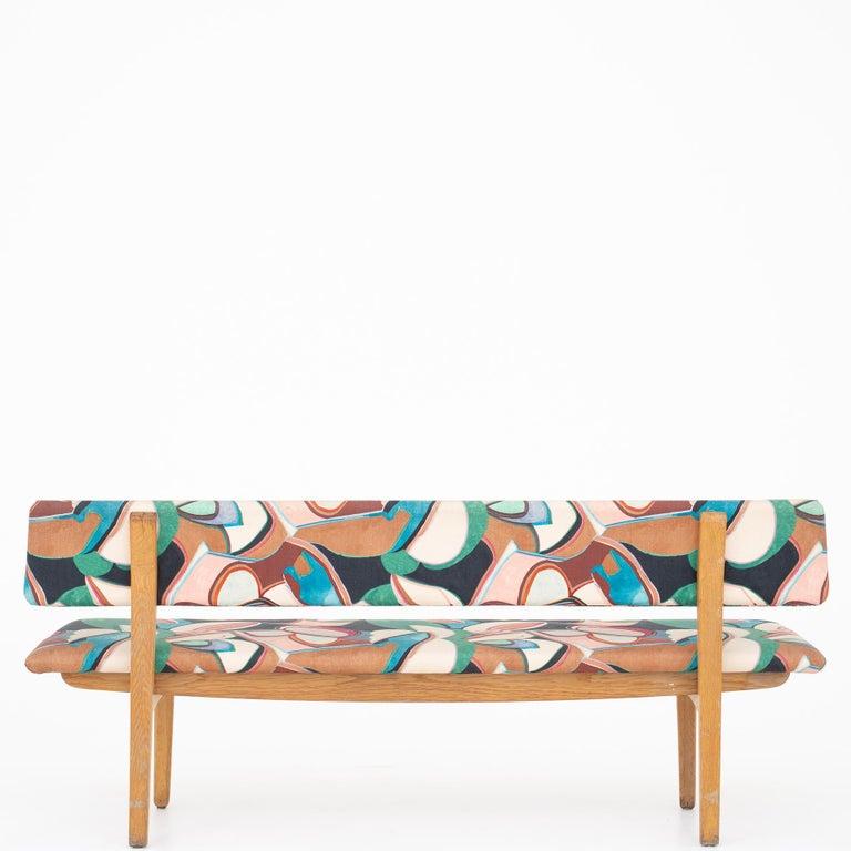 Bench by Ejnar Larsen & Aksel Bender Madsen In Good Condition For Sale In Copenhagen, DK