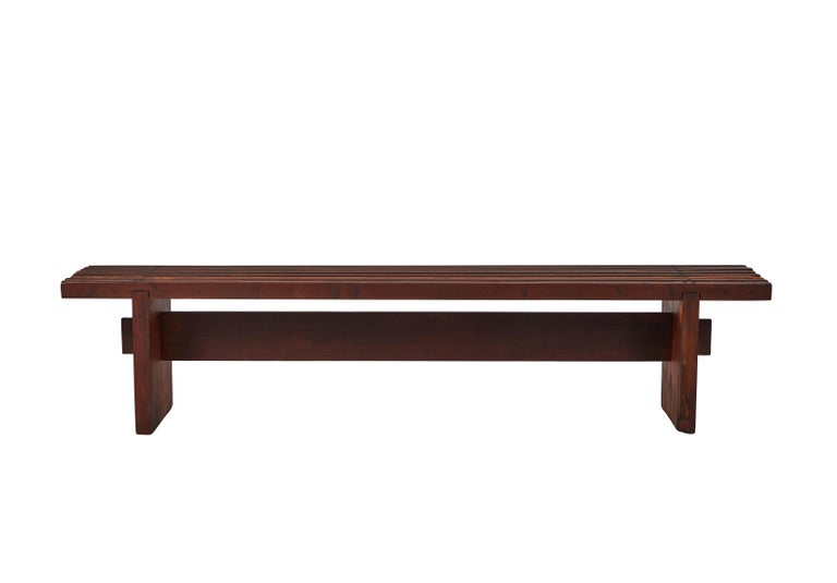 Bench by Lino Bo Bardi For Sale 5