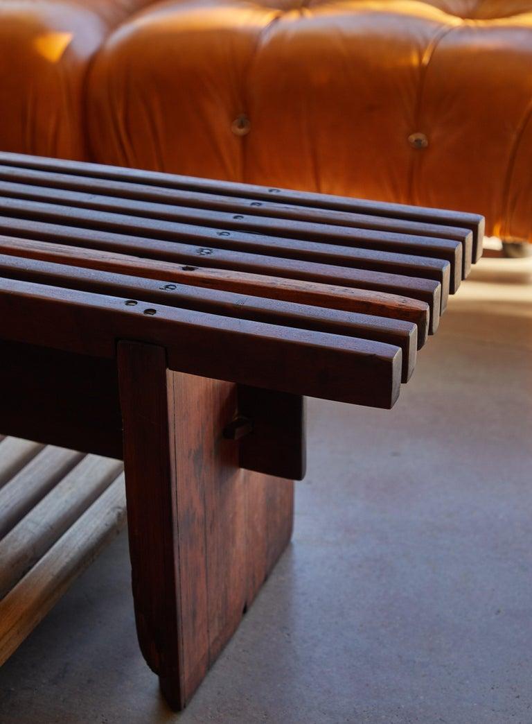 Brazilian Bench by Lino Bo Bardi For Sale