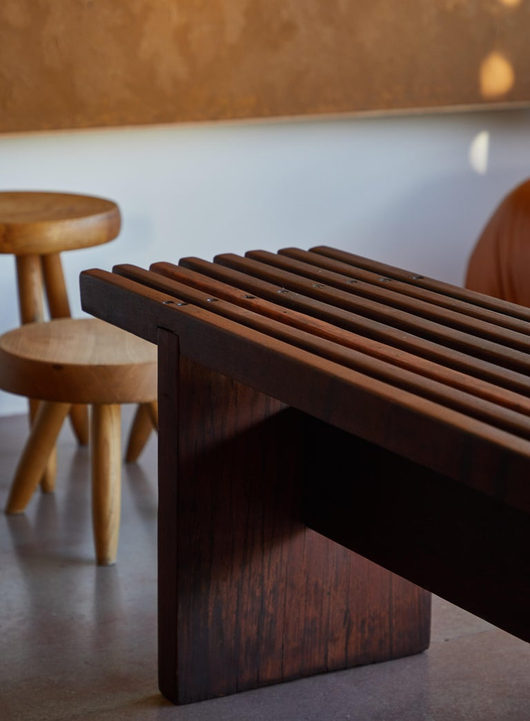 Bench by Lino Bo Bardi In Good Condition For Sale In Los Angeles, CA