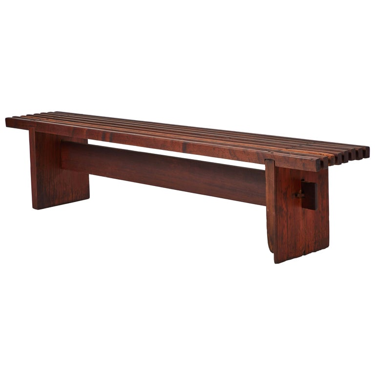 Bench by Lino Bo Bardi For Sale