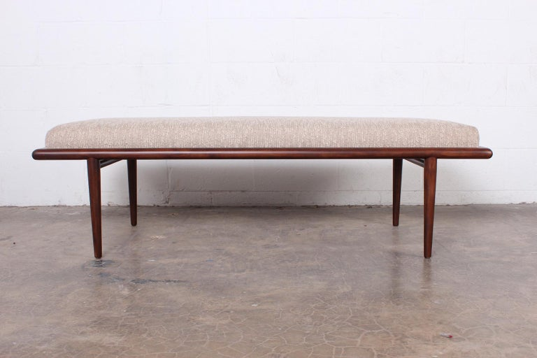Bench by T.H. Robsjohn-Gibbings for Widdicomb In Excellent Condition For Sale In Dallas, TX