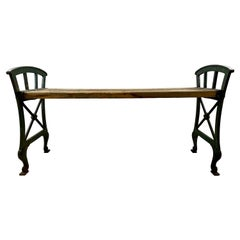Bench, Cast Iron, 1920s Näfveqvarns Bruk