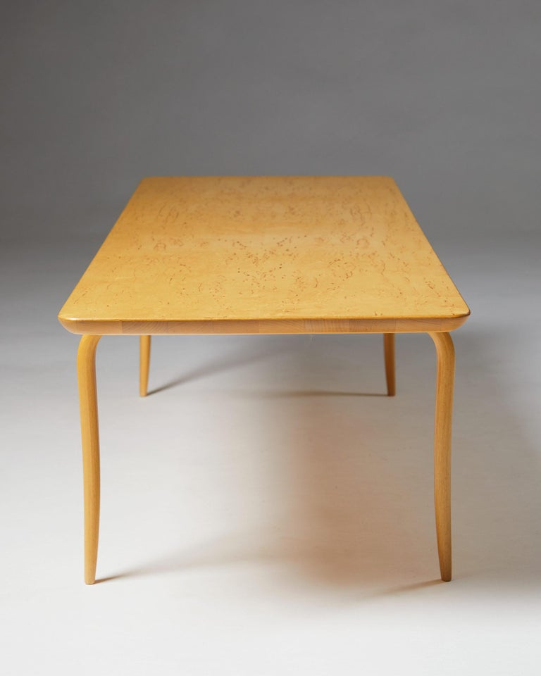 """Swedish Bench/Coffee Table """"Annika"""" Designed by Bruno Mathsson For Sale"""