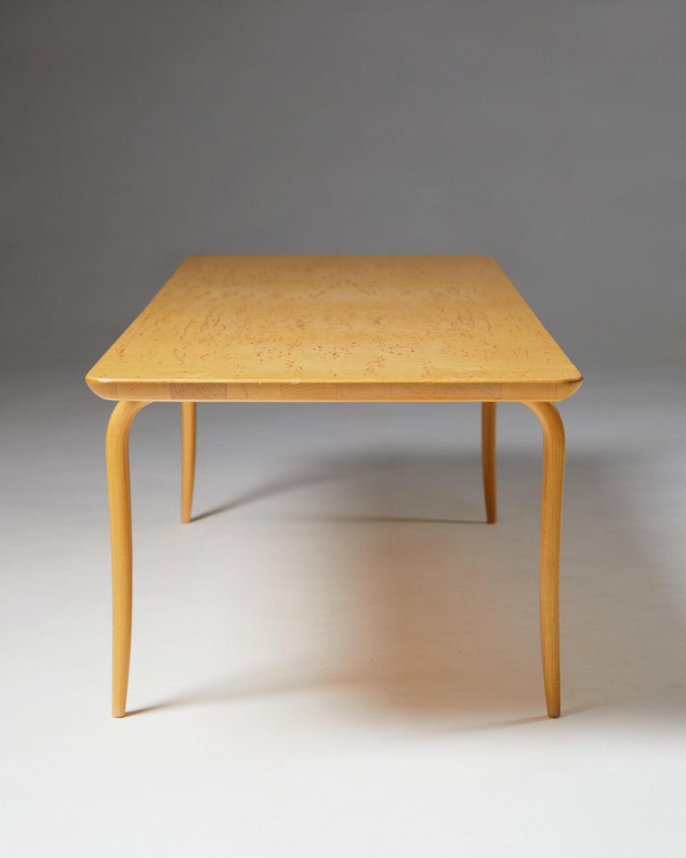 """Bench/Coffee Table """"Annika"""" Designed by Bruno Mathsson In Excellent Condition For Sale In Stockholm, SE"""