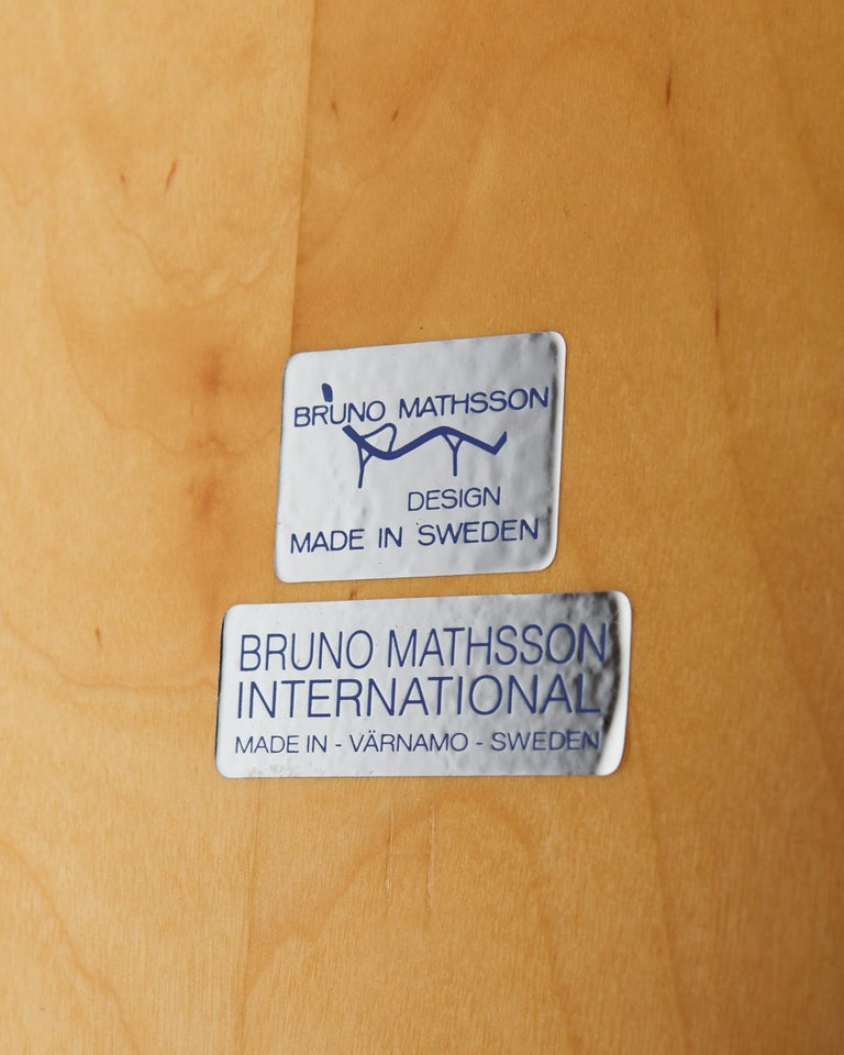 """Bench/Coffee Table """"Annika"""" Designed by Bruno Mathsson For Sale 2"""