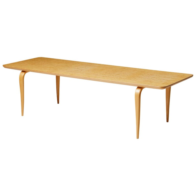 """Bench/Coffee Table """"Annika"""" Designed by Bruno Mathsson For Sale"""