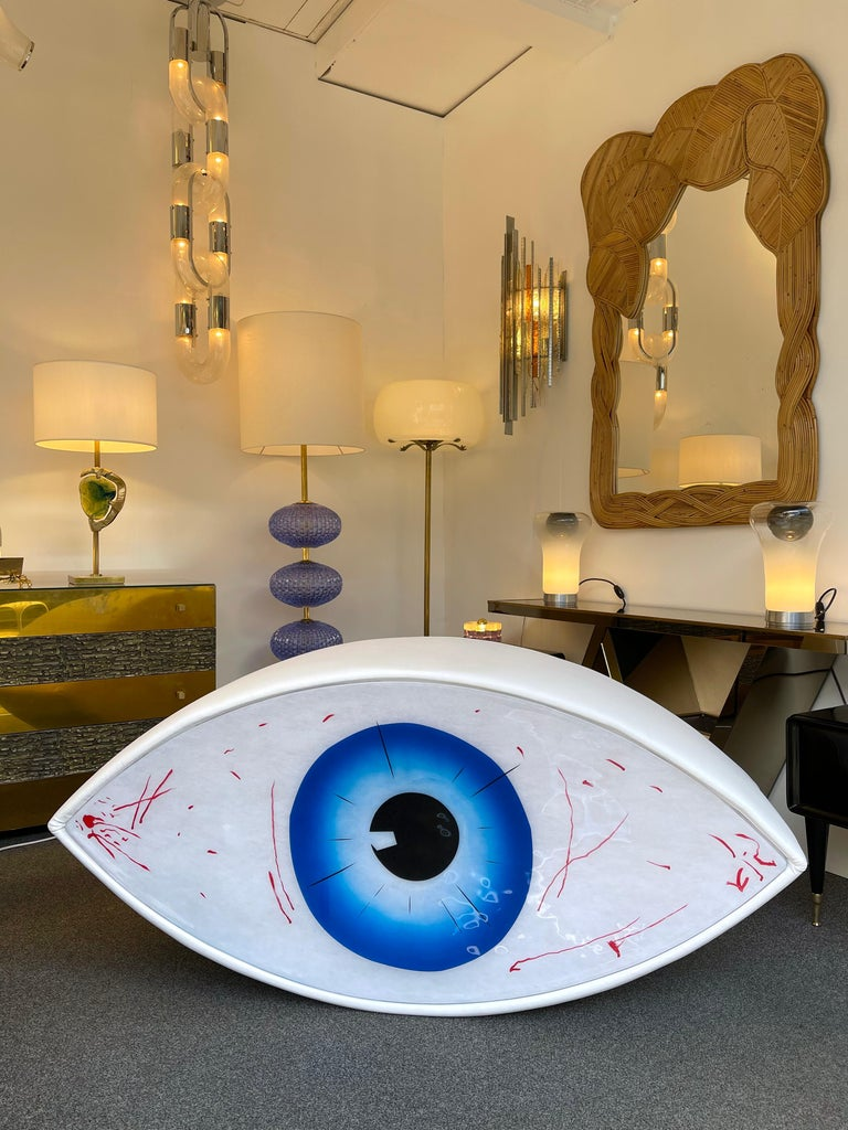 Bench Eye Le Temoin by Man Ray for Studio Simon, Italy, 1971 For Sale 2