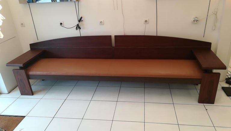 Bench from the French Senat, Palais du luxembourg, circa 1970 For Sale 6