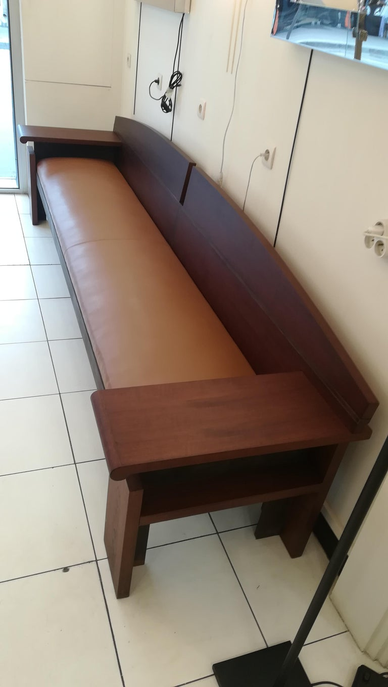 Bench from the French Senat, Palais du luxembourg, circa 1970 For Sale 3