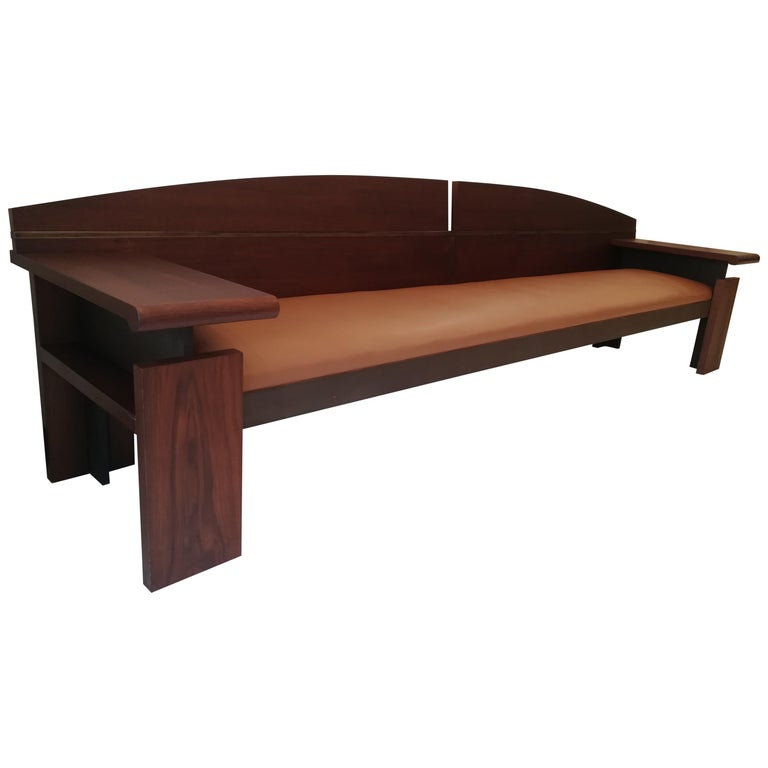 Bench from the French Senat, Palais du luxembourg, circa 1970 For Sale