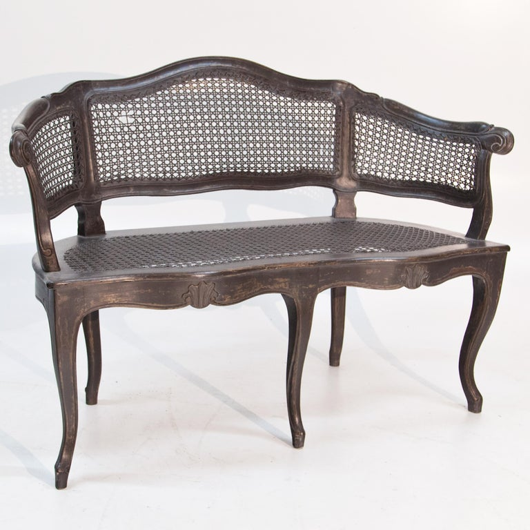 Bench in Baroque Style, Early 19th Century In Good Condition For Sale In Greding, DE