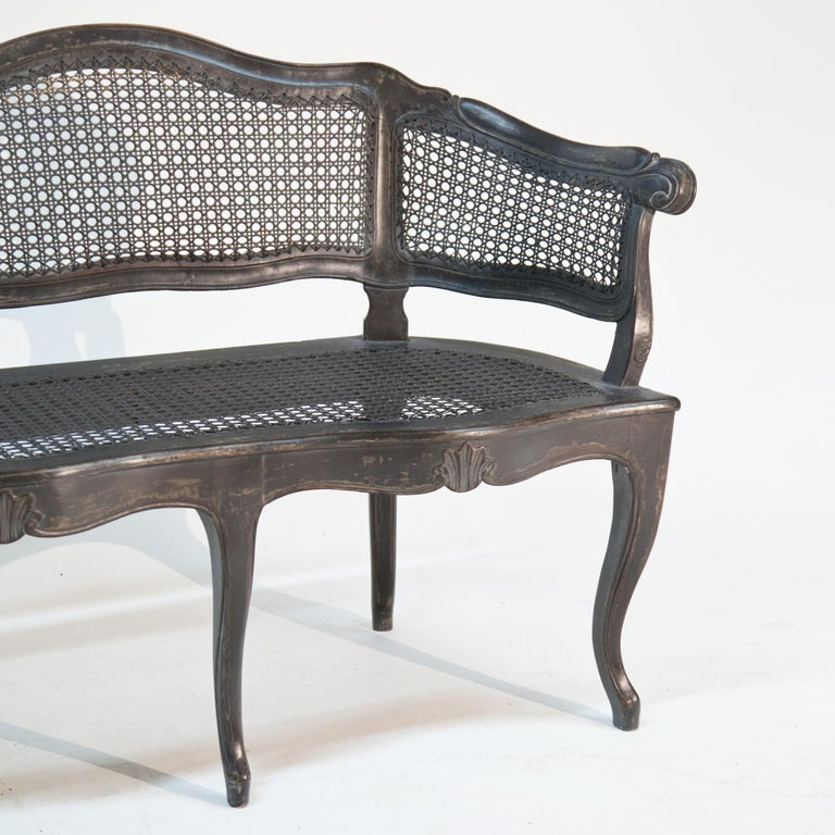 Bench in Baroque Style, Early 19th Century For Sale 1