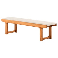 Bench in the Manner of Carl Malmsten Produced in Sweden