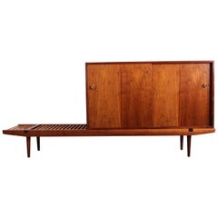Bench with Cabinet by Glenn of California