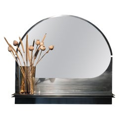 Bend Mirror with Shelf by Buket Hoşcan Bazman