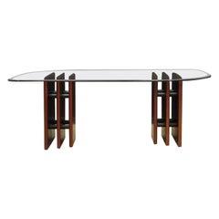 Bendixen Mahogany Table Danish Design, 1960s