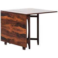 Bendt Winge Drop-Leaf Dining Table Model Nr 4 by Kleppes Møbelfabrikk in Norway