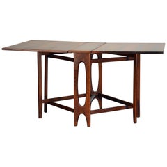 Bendt Winge Rosewood Gate-Leg Dining Table