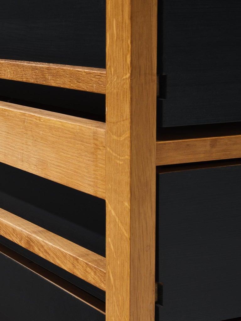 Benedikt Rohner Oak Desks for Oswald For Sale 1