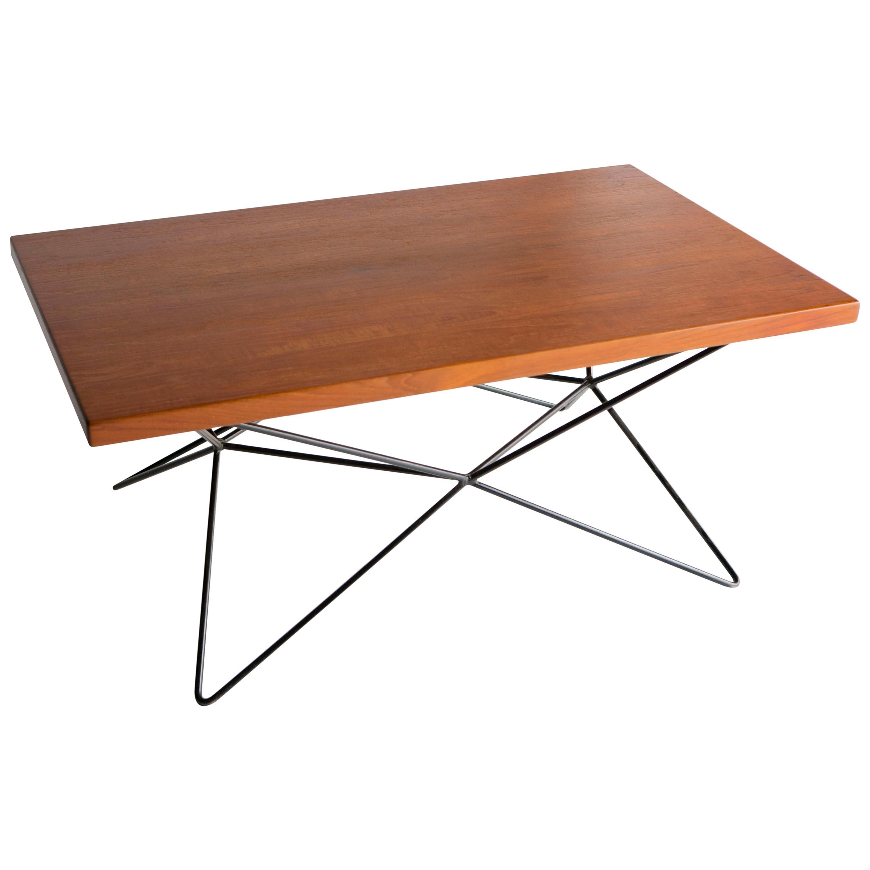 "Bengt Johan Gullberg ""A2"" 3 Height Table, Gullberg Trading Company Sweden 1950s"
