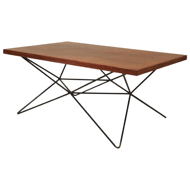 """Bengt-Johan Gullberg, Sofa/Dining/Cocktail, Table """"A2"""" Three Heights, 1950s For Sale"""