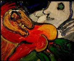 Creatures - Original Oil Painting by Bengt Lindström - 1980