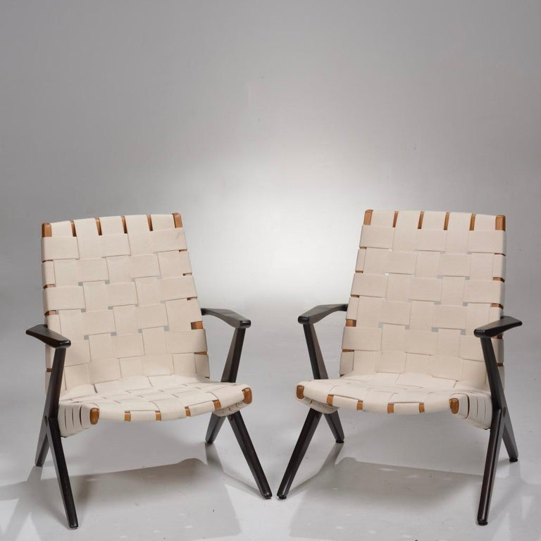 Bengt Ruda Easy Chairs by Nordiska Kompaniet, Sweden 4