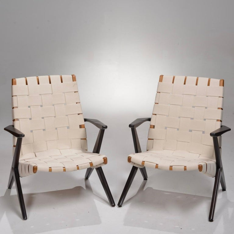 Bengt Ruda Easy Chairs by Nordiska Kompaniet, Sweden 5