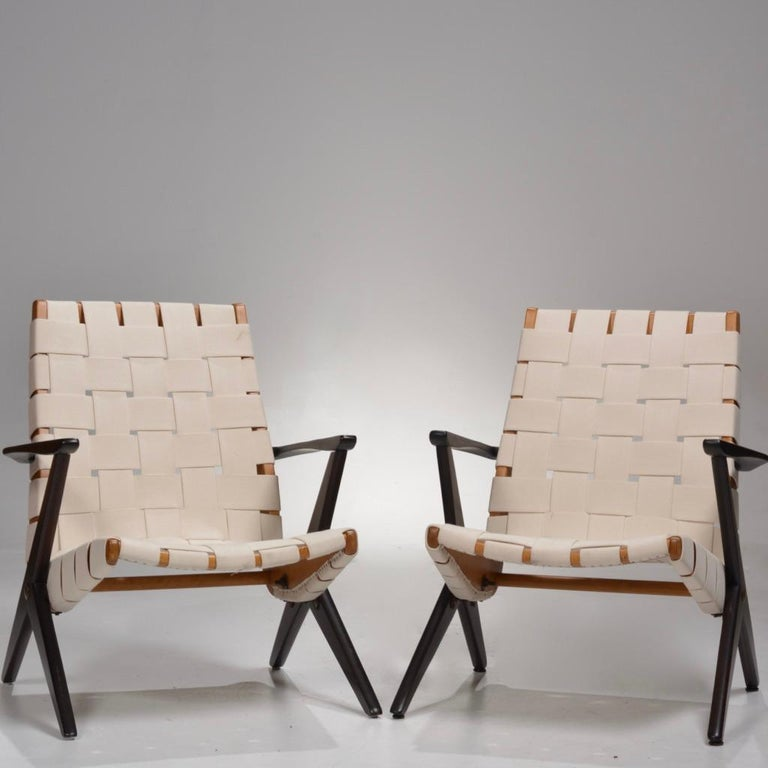 Bengt Ruda Easy Chairs by Nordiska Kompaniet, Sweden 6