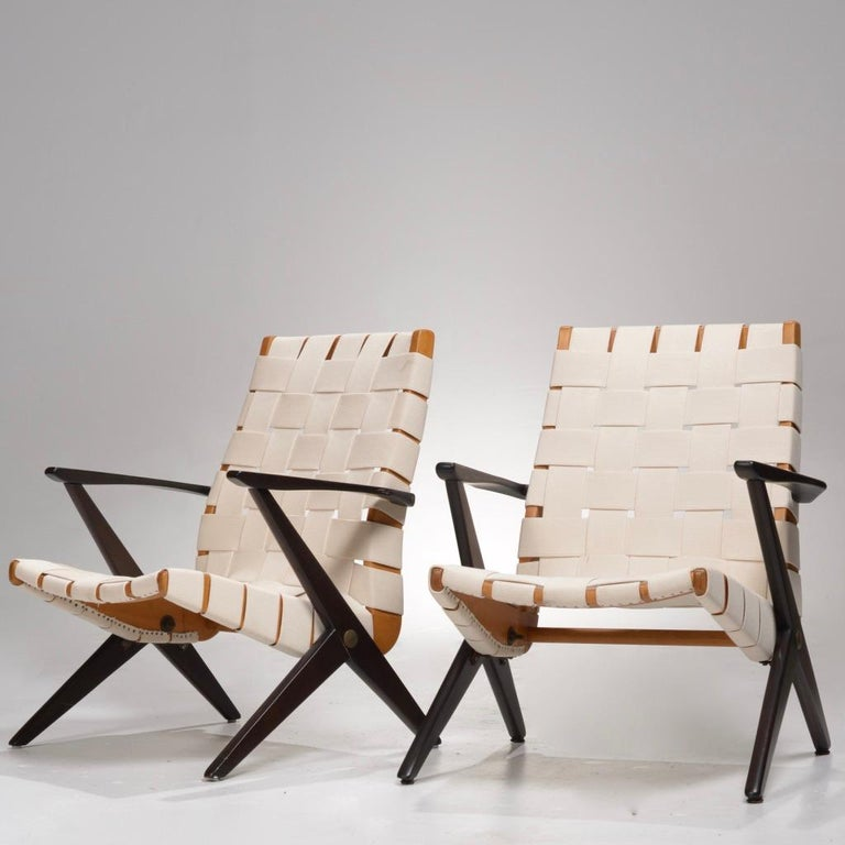 Bengt Ruda Easy Chairs by Nordiska Kompaniet, Sweden 7