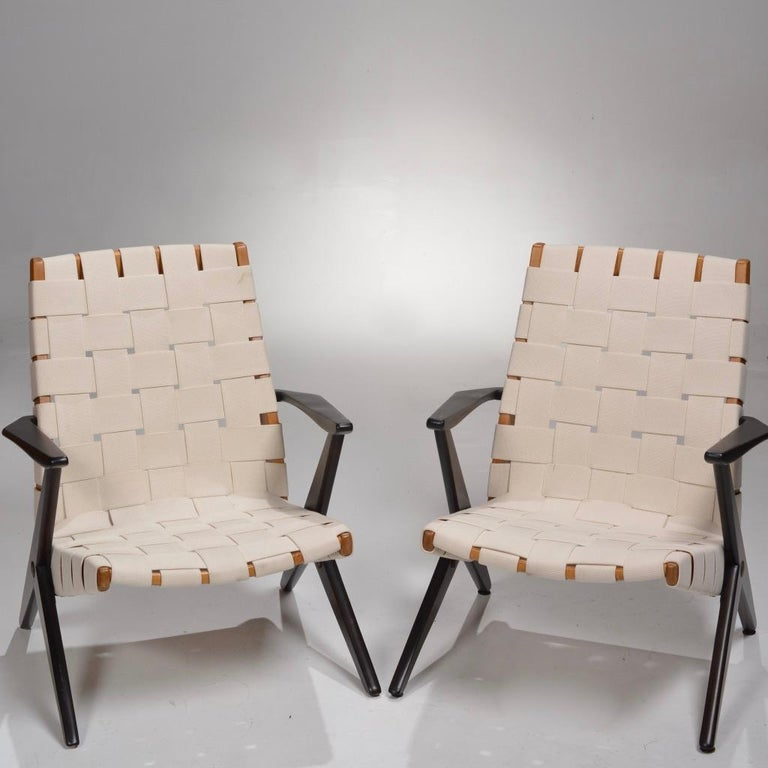 Bengt Ruda Easy Chairs by Nordiska Kompaniet, Sweden 8