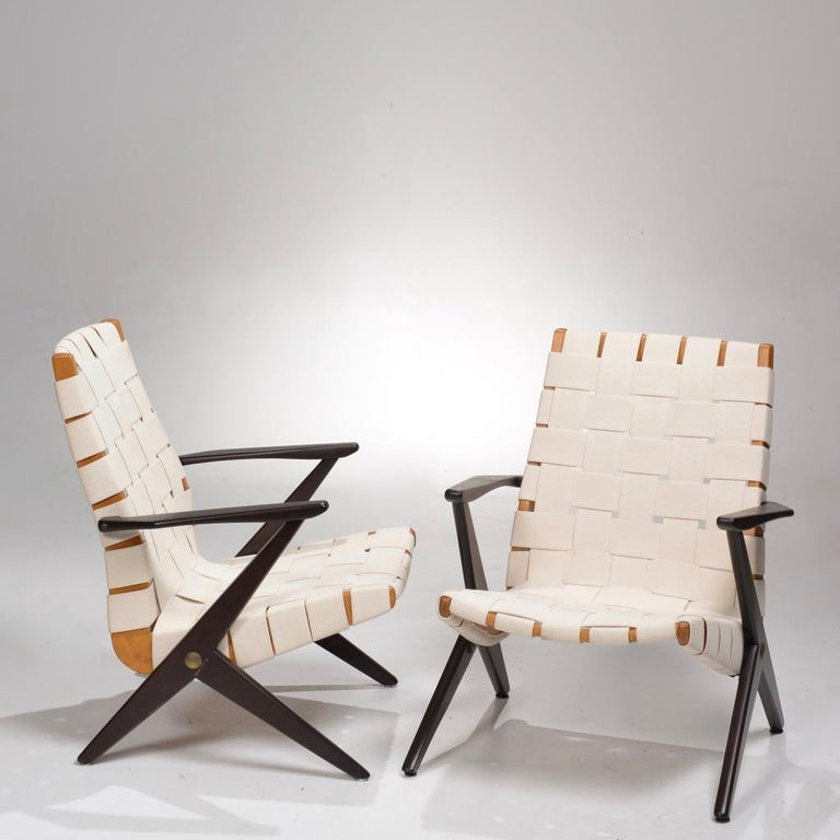 Bengt Ruda Easy Chairs by Nordiska Kompaniet, Sweden 9