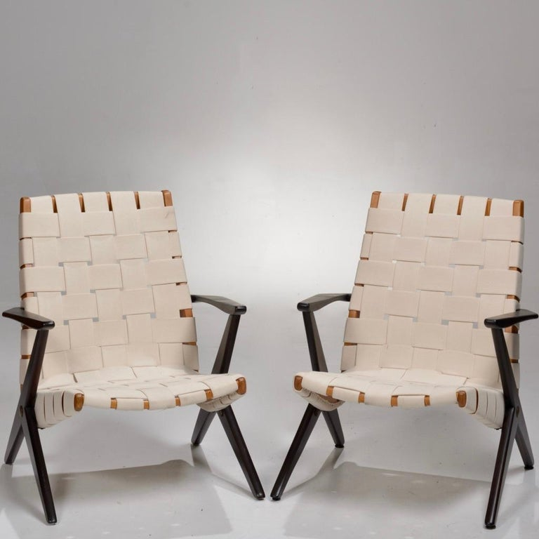 Bengt Ruda Easy Chairs by Nordiska Kompaniet, Sweden 10