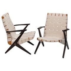 Bengt Ruda Easy Chairs by Nordiska Kompaniet, Sweden