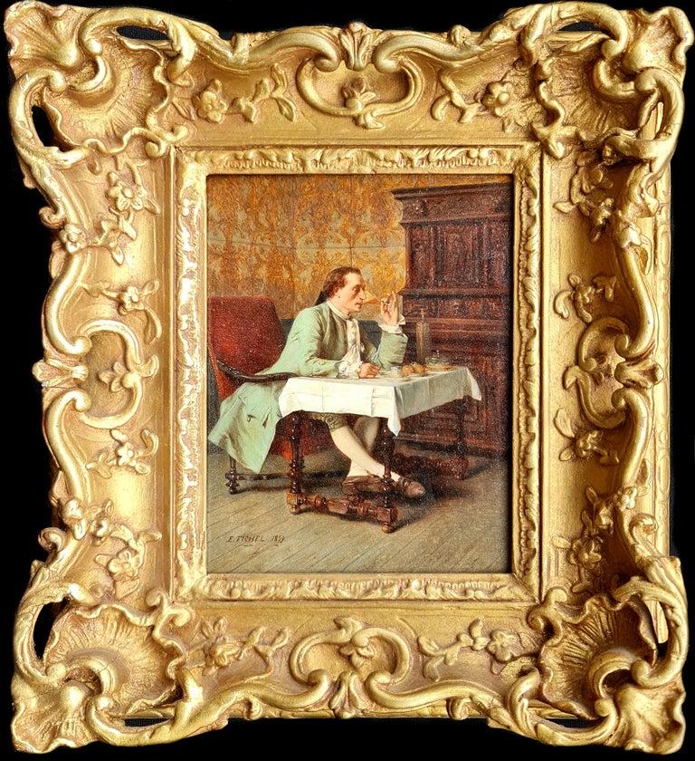 Benjamin Eugène Fichel Interior Painting - A Fine Wine