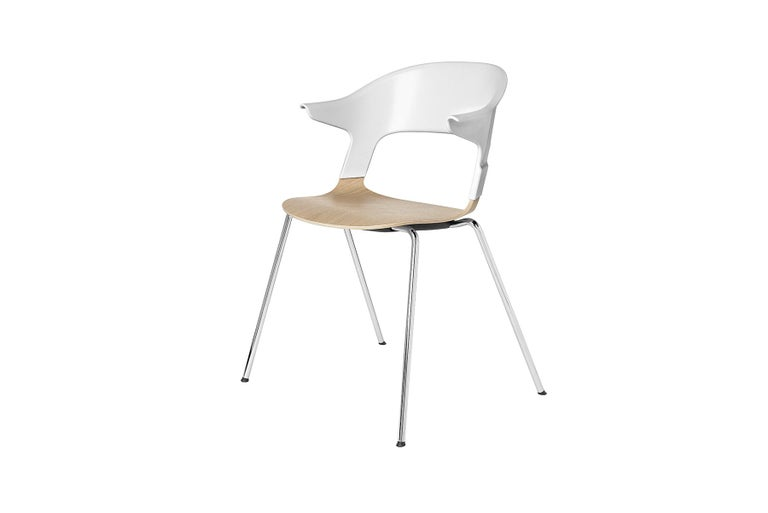 The Pair chair is a tale of materials, textures, light and colour. You can customise the different elements and mix & match the different colours and materials. This opens up for endless combinations. Pair is designed by Benjamin Hubert for Fritz