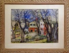 Rockaway Landscape, Painting by Benjamin Kopman
