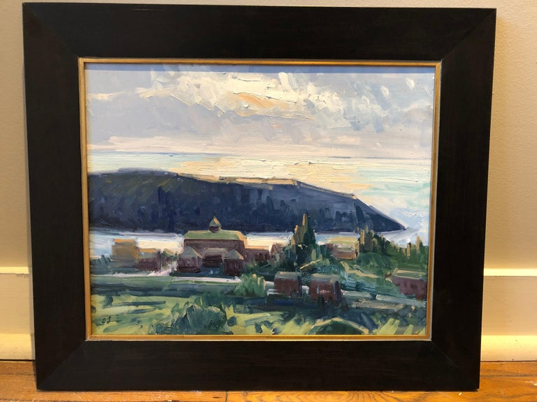 Just Before Sunset - Painting by Benjamin Lussier