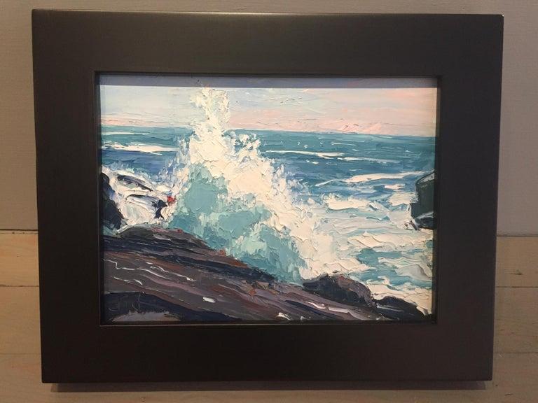 Sea Spray - Painting by Benjamin Lussier