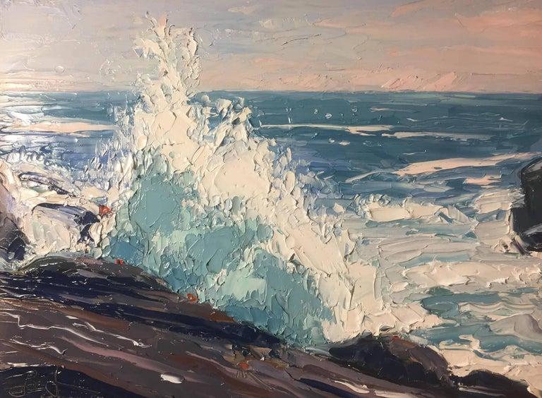 Benjamin Lussier Landscape Painting - Sea Spray