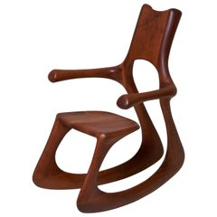 Bennet Sykes Blackburn Studio Rocking Chair, USA, 1971