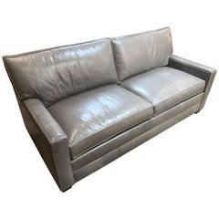 Bennett Leather Sofa from Ethan Allen